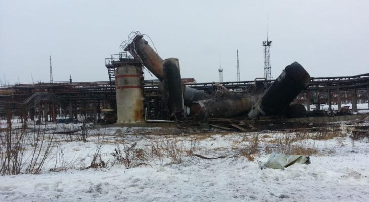 На нефтезаводе в Ухте начали восстановительные работы