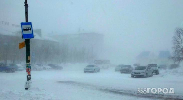 На севере Коми продлили штормовое предупреждение