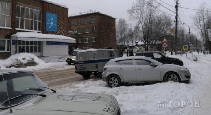 В сыктывкарском техникуме ищут бомбу (фото)