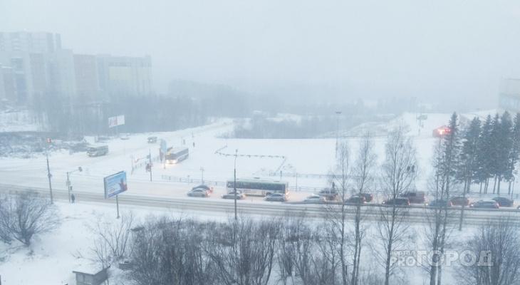 Погода в Сыктывкаре на 22 января: снегопад и порывистый ветер