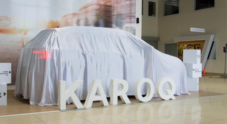 Тест-драйв нового ŠKODA KAROQ: очередь из желающих прокатиться  растянулась на два дня (фото)