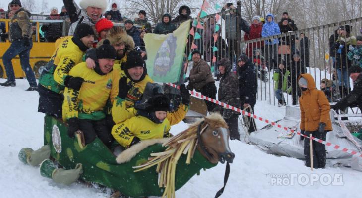 Битва тарантасов в Сыктывкаре: «летающие тарелки» и «Автобус №54» боролись за победу (фото)