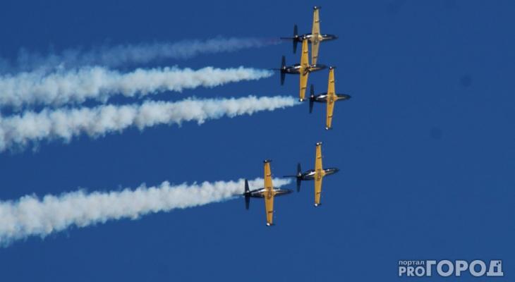На День Победы в Сыктывкаре выступит легендарная пилотажная группа «Русь»