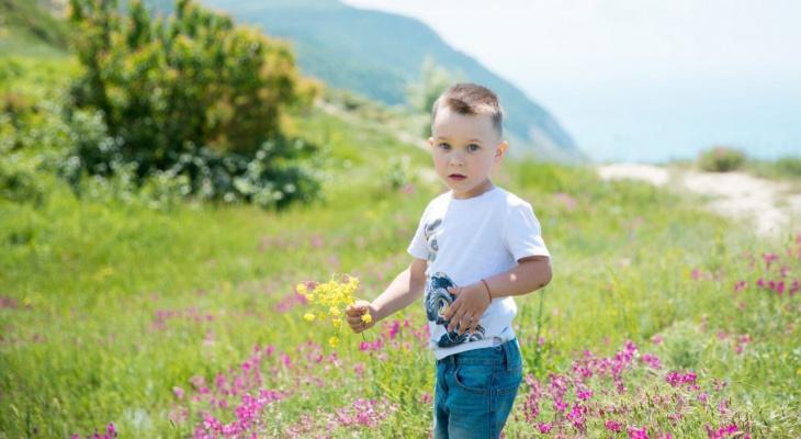 Ребенок из Сыктывкара борется за звание самого красивого мальчика в России