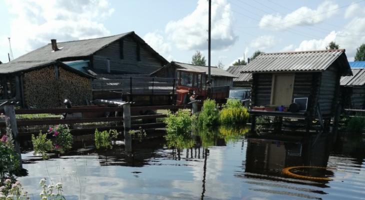 В Коми «затонули» почти 60 домов
