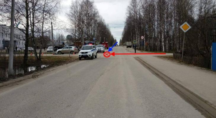 В Коми внедорожник не пропустил мотоциклиста: байкер погиб