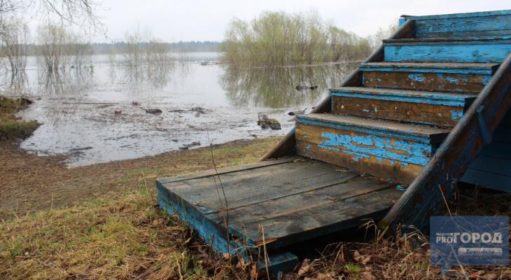 В Коми ожидаются сильные паводки: спасатели предупреждают о подъеме уровня воды
