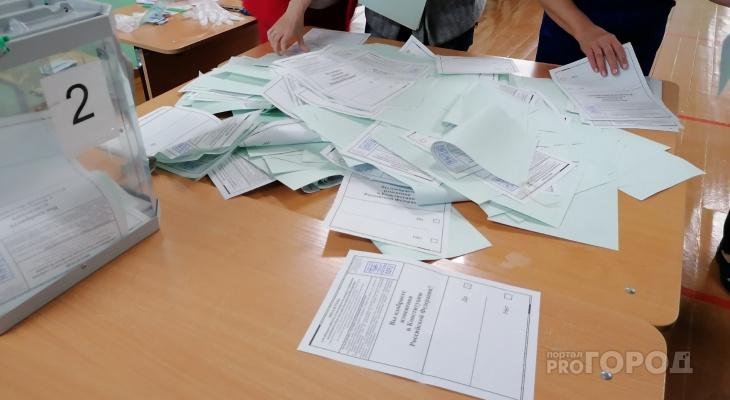 Фоторепортаж: в Сыктывкаре подводят итоги голосования по поправкам в Конституцию