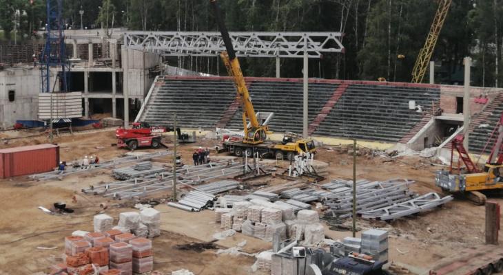 «Т Плюс» обеспечил техническую возможность для подачи тепловой энергии на Республиканский стадион в Сыктывкаре