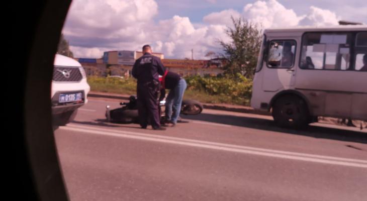Появились подробности ДТП с мотоциклистом на Сысольском шоссе в Сыктывкаре