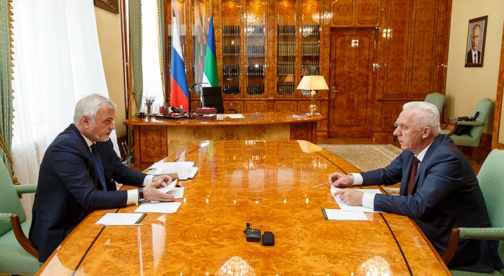 В Сыктывкар прибыл полномочный представитель президента России