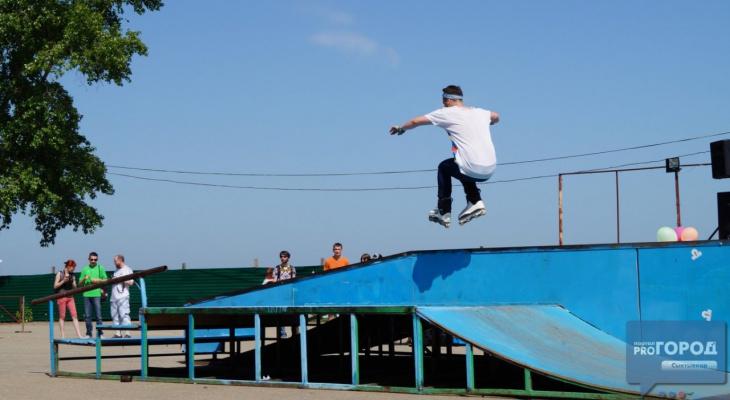 Строительство скейт-площадки в Сыктывкаре перенесли