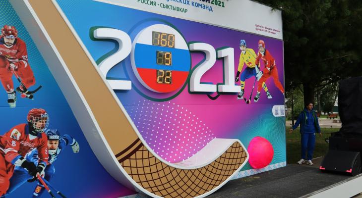 Сыктывкарские хоккеисты безумно обрадовались открытию нового арт-объекта (фото)