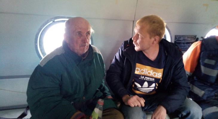 В Коми пенсионер почти неделю в одиночку выживал в лесу