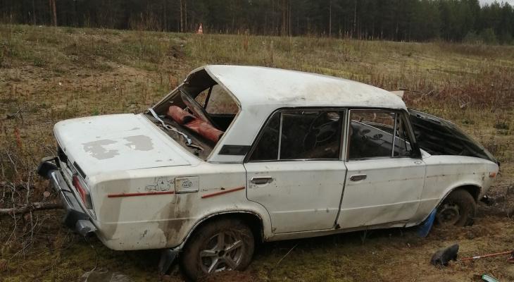 В Коми из-за пьяного водителя пострадал пассажир