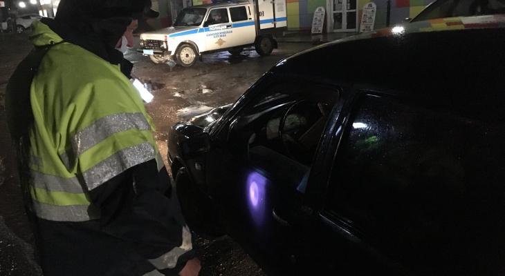 В Сыктывкаре задержали двух пьяных водителей