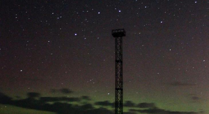Фото дня от сыктывкарки: завораживающая красота северного неба