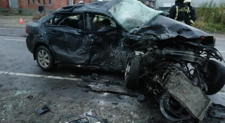 В Коми столкнулись «Фольксваген» и «Шевроле Нива»: один человек погиб