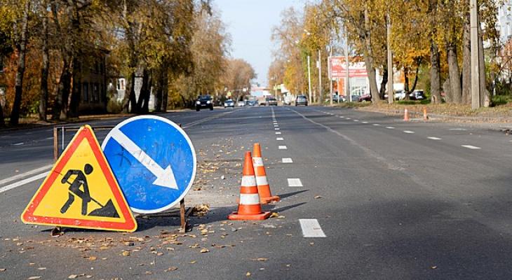 В Сыктывкаре завершаются работы на Октябрьском проспекте