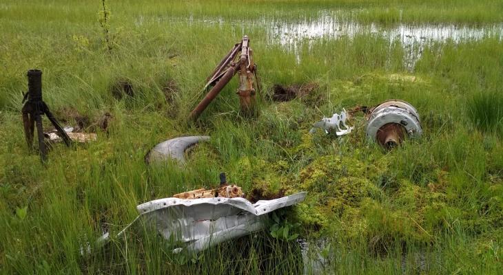В Коми нашли обломки американского военного самолета