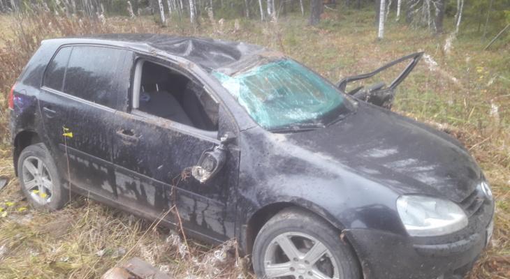 В Коми в ДТП погиб водитель «Фольксвагена»