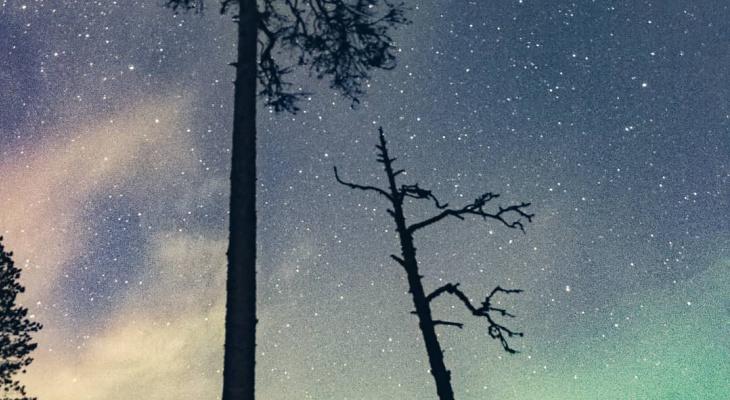 Фото дня от сыктывкарца: бескрайние просторы вселенной