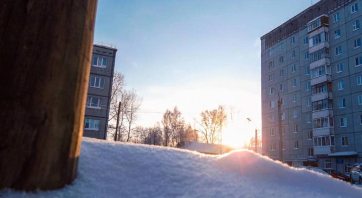 Погода в Сыктывкаре на 18 ноября: холодно и ясно