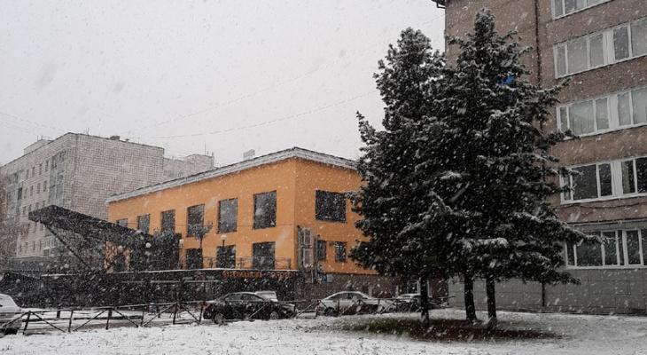 Погода в Сыктывкаре на 19 ноября: в столице снова снег