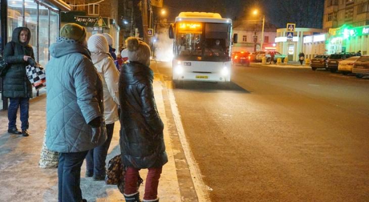 Во время проверки автобусов сотрудники сыктывкарской мэрии прождали 18-й полчаса