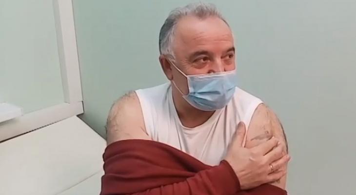 Глава Ухты сделал прививку от коронавируса