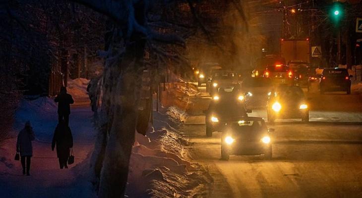 Фото дня: атмосфера вечернего Сыктывкара