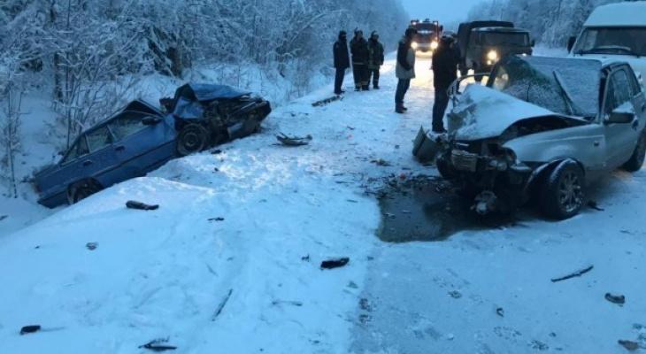 Количество пострадавших в жесткой аварии с «Дэу»  в Коми выросло