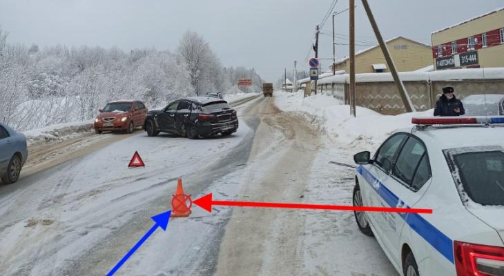 За день в Сыктывкаре произошло две аварии с пострадавшими
