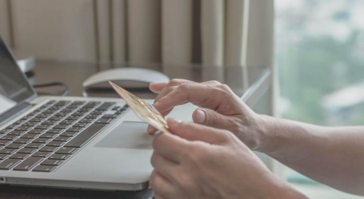Объём продаж через интернет-эквайринг Сбербанка в 2020 году в СЗФО вырос вдвое