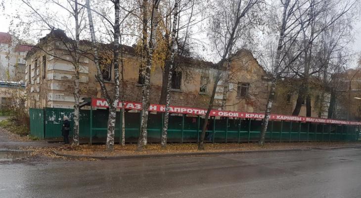 Мэрия Сыктывкара разрешила построить новый ТЦ на месте руин в центре города