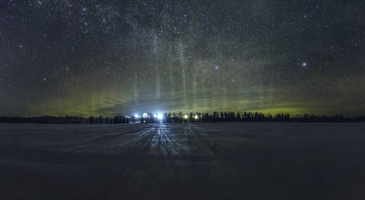 Фото дня от сыктывкарца: великолепие Вселенной
