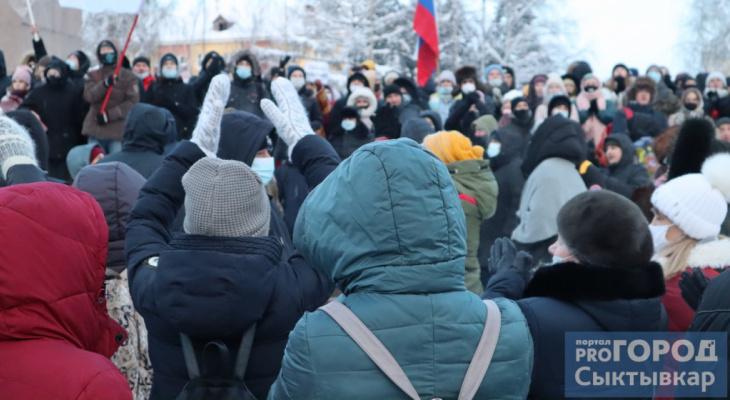 «В дома к людям ломится полиция»: общественники Коми призвали силовиков не мешать протестам