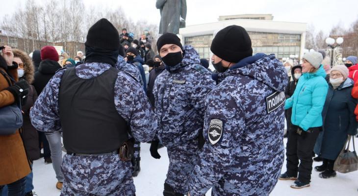 Фоторепортаж: что происходило на Театральной площади в Сыктывкаре