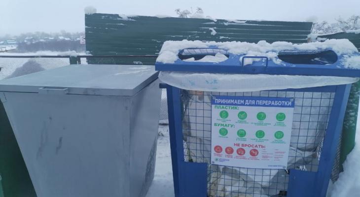 В Сыктывкаре запустили проект по двухкомпонентному раздельному сбору мусора