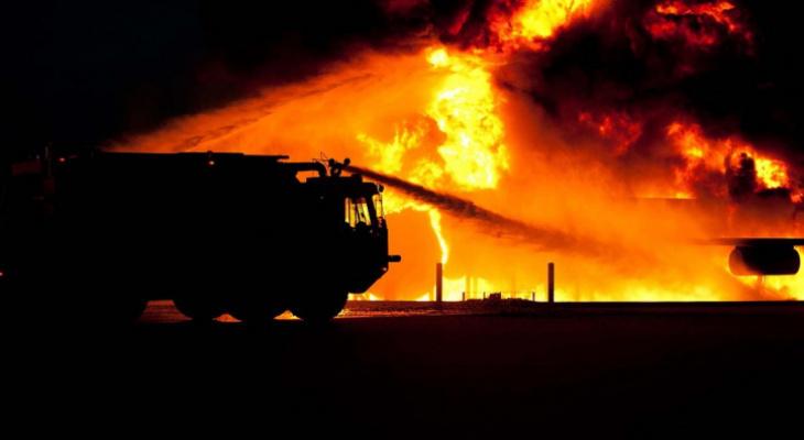 В сыктывкарском Лесозаводе горел деревянный дом