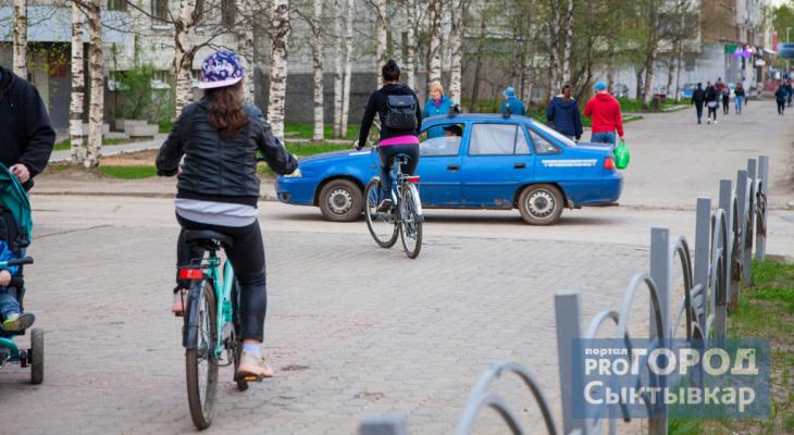 Сыктывкарцам предложили поучаствовать в создании велодорожек