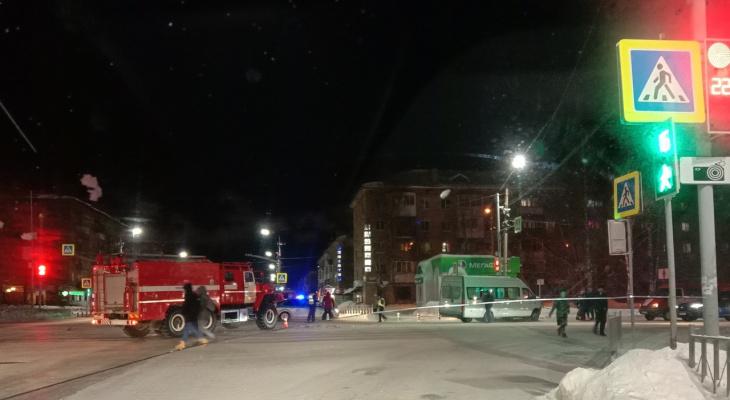 В Коми пожарный «Урал» влетел в пассажирскую «Газель»