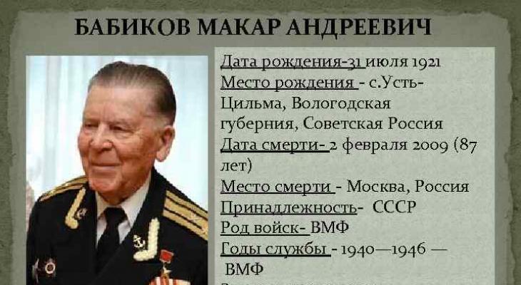 В Сыктывкаре появится новая улица имени героя Советского Союза