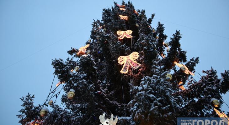 Новогодняя елка из Сыктывкара станет украшениями из дерева