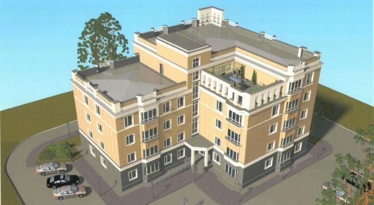 В Сыктывкаре хотят построить дом со спортплощадкой на крыше