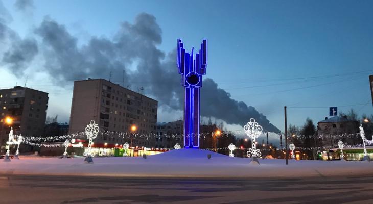 Фото дня в Сыктывкаре: мягкие сумерки в сердце города