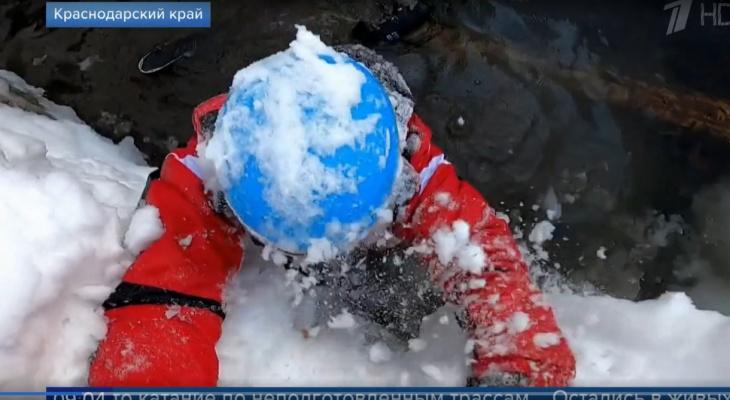 «Такое случается каждый день»: сыктывкарка рассказала о происшествии с лыжником на Красной Поляне