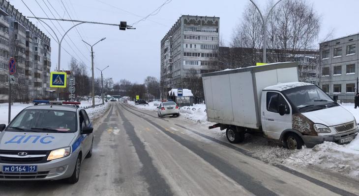 В Сыктывкаре под колеса «Газели» попал 7-летний мальчик