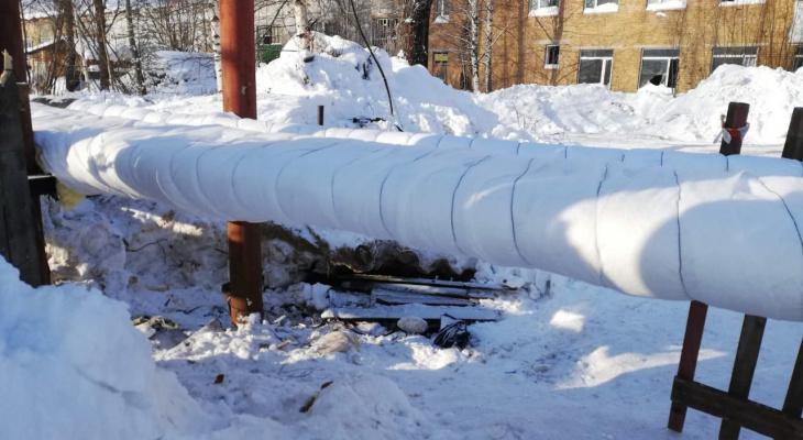 В сыктывкарском поселке возобновили подачу тепла жителям