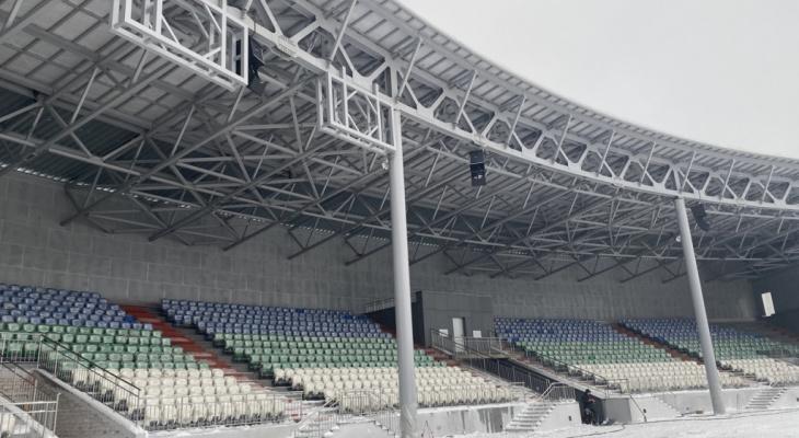 Республиканский стадион в Сыктывкаре признан полностью готовым